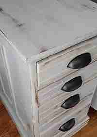 Repurposed Nightstands