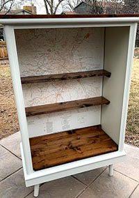 Denver Map Cabinet